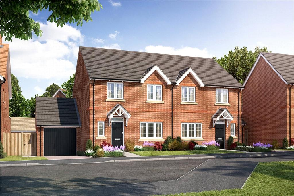 3 Bedrooms Semi Detached House for sale in Plot 79, Hopefield Grange, Littleworth Road, Benson, Oxfordshire, OX10