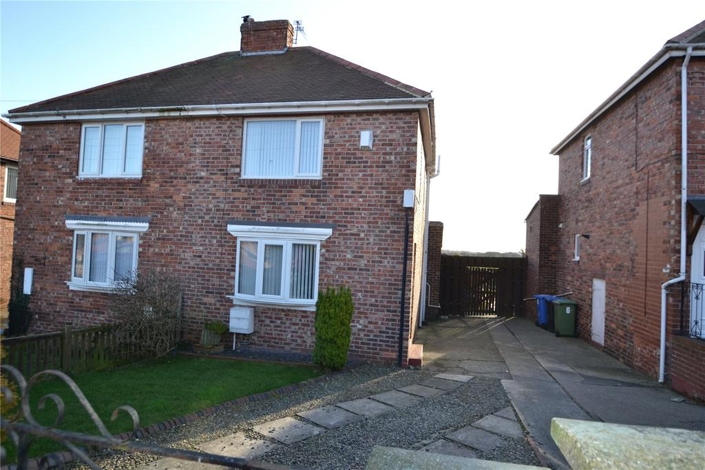 2 Bedrooms Semi Detached House for sale in Morris Square, Easington, Peterlee, Co.Durham, SR8