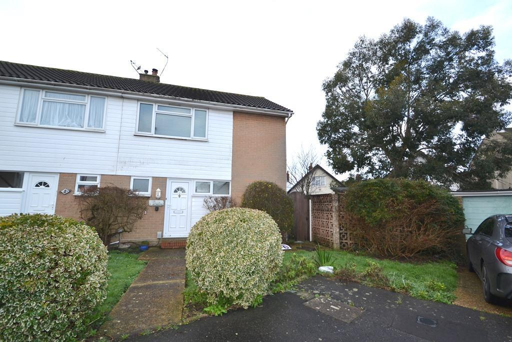 3 Bedrooms Semi Detached House for sale in Pembury Close, Worthing, West Sussex, BN14 7DW