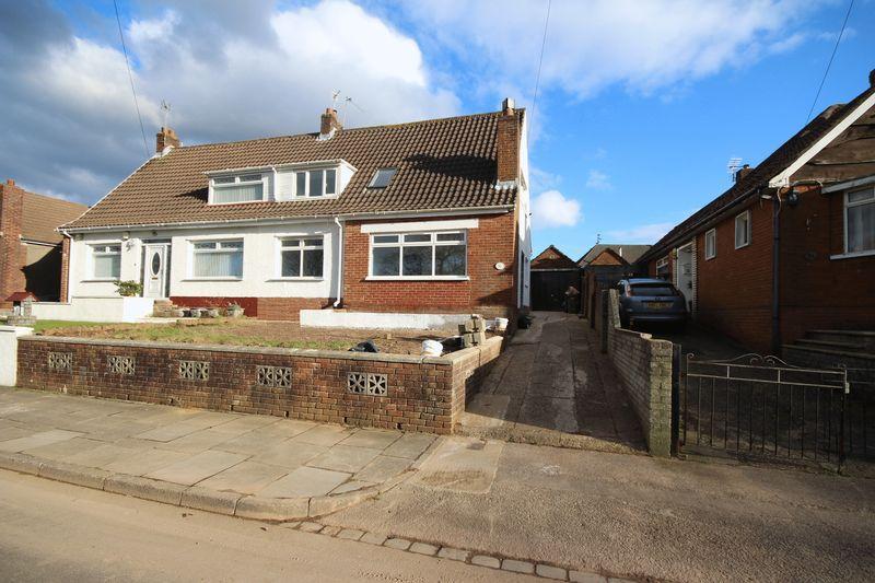 4 Bedrooms Semi Detached House for sale in Lynton Terrace, Llanrumney