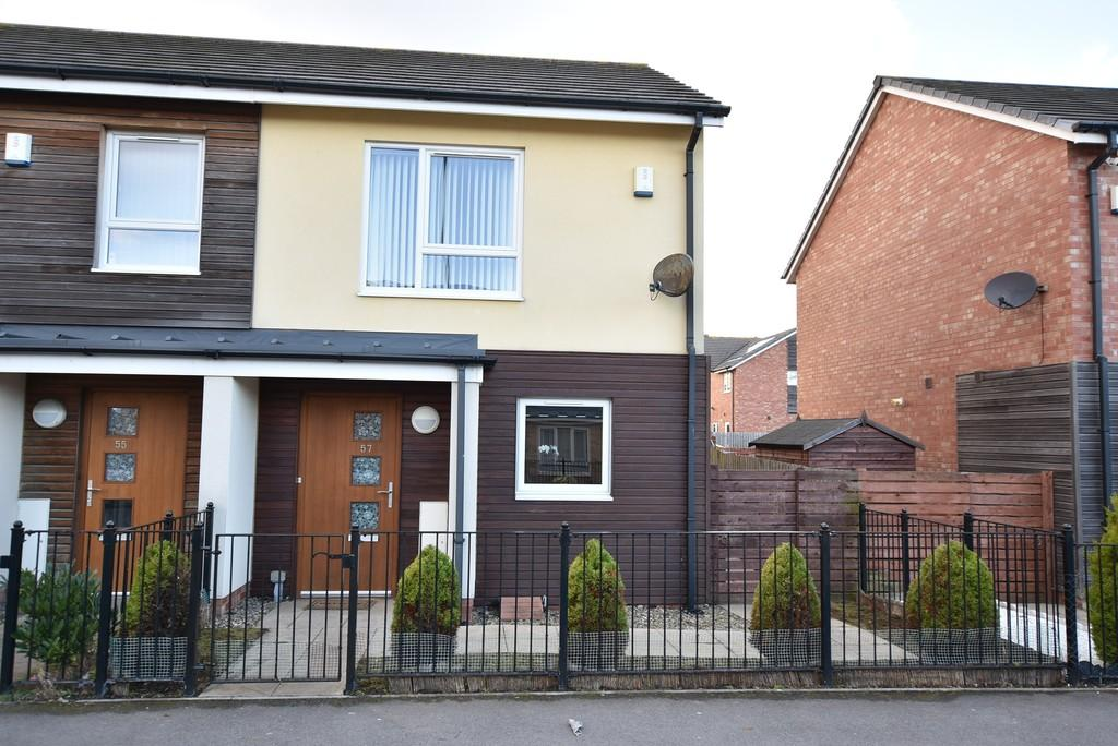 2 Bedrooms Semi Detached House for sale in Beaumont Street, Southwick