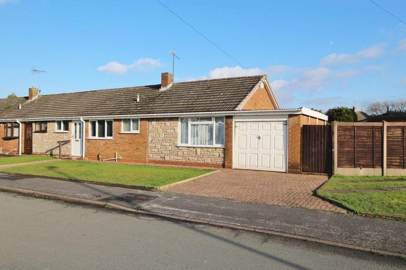 3 Bedrooms Semi Detached Bungalow for sale in The Hayes, Summer Hayes, Willenhall