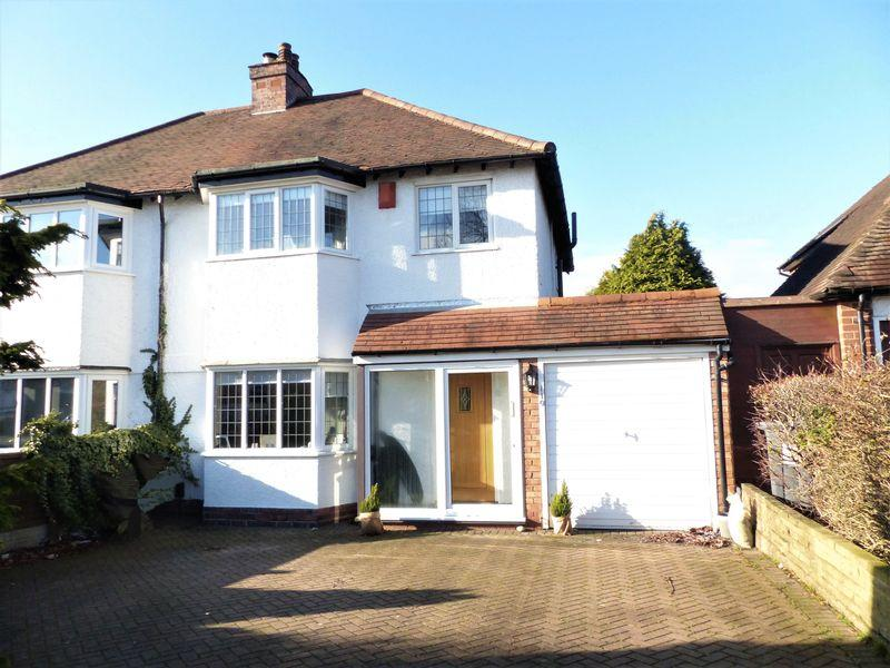 3 Bedrooms Semi Detached House for sale in Walmley Road, Walmley