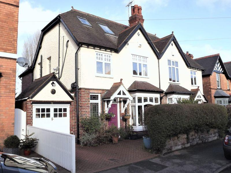 4 Bedrooms Semi Detached House for sale in Highbridge Road, Sutton Coldfield