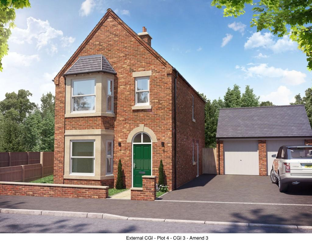 3 Bedrooms Detached House for sale in Plot 4, Belmont Street, Swadlincote