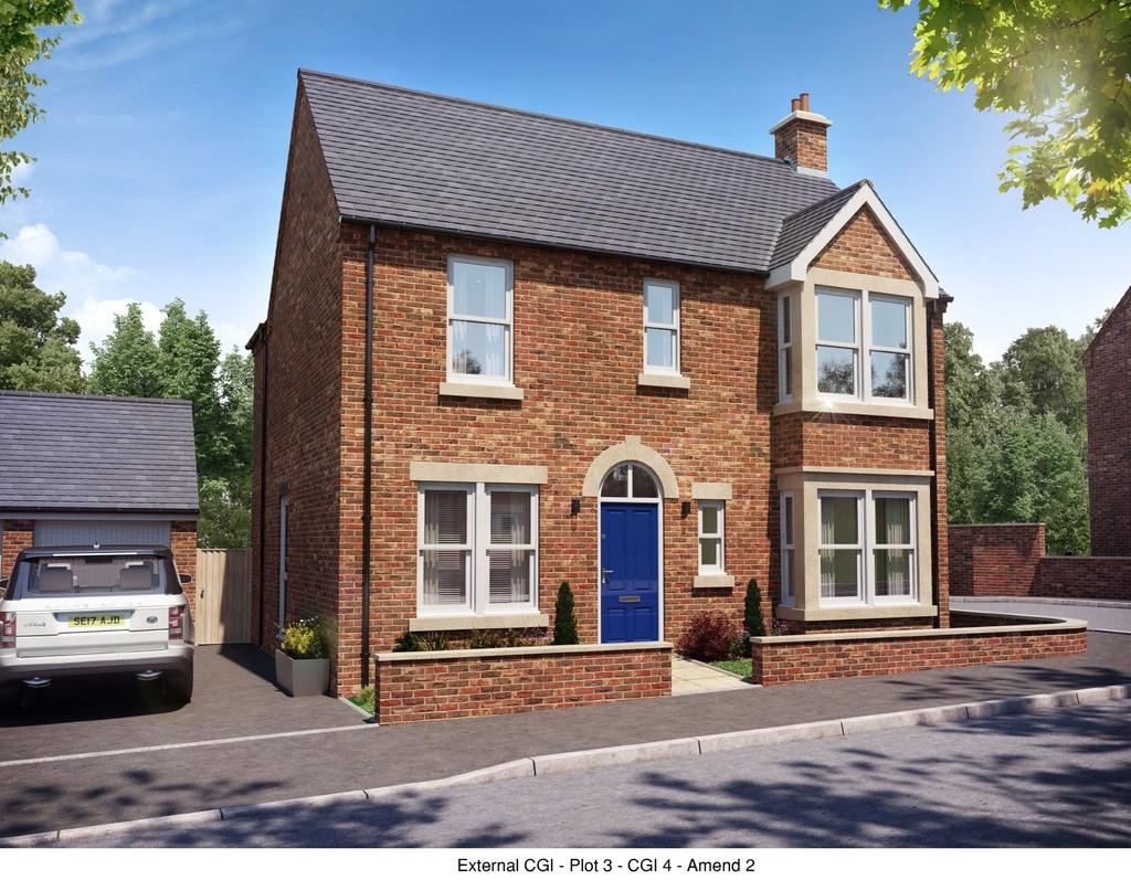 3 Bedrooms Detached House for sale in Plot 2, Belmont Street, Swadlincote