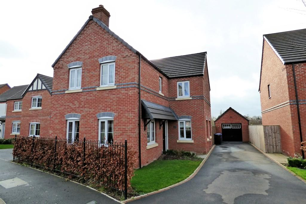 4 Bedrooms Detached House for sale in Meadow Fields, Rolleston-on-Dove