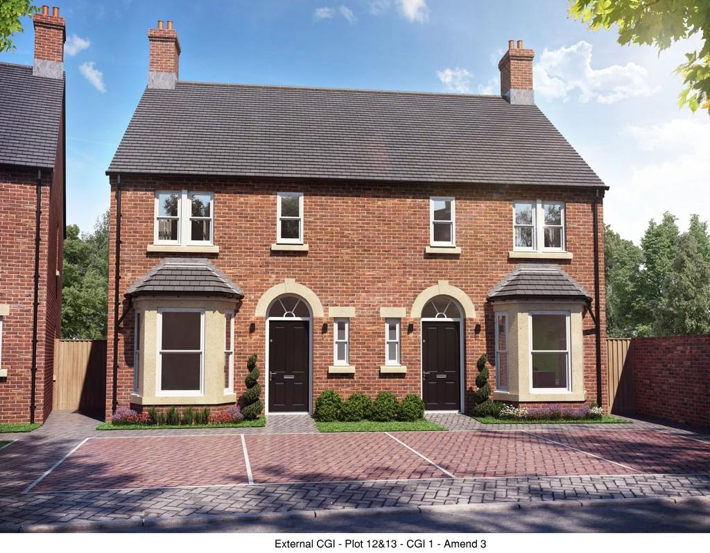 3 Bedrooms Semi Detached House for sale in Plot 13, Belmont Street, Swadlincote