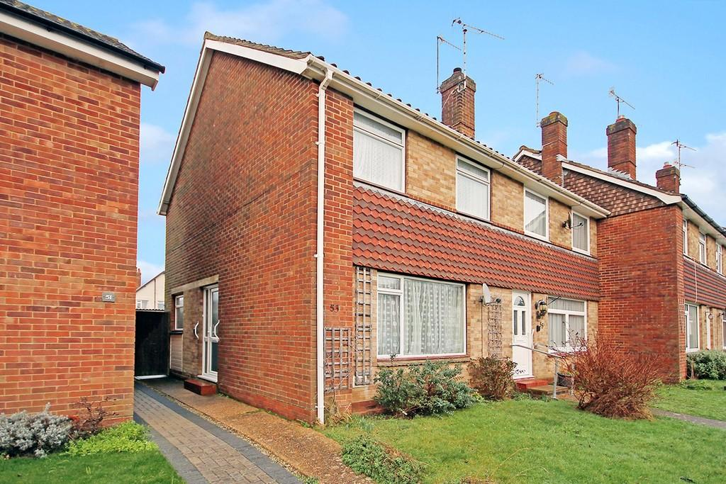 3 Bedrooms End Of Terrace House for sale in Stonehurst Road, Worthing, BN13 1ND