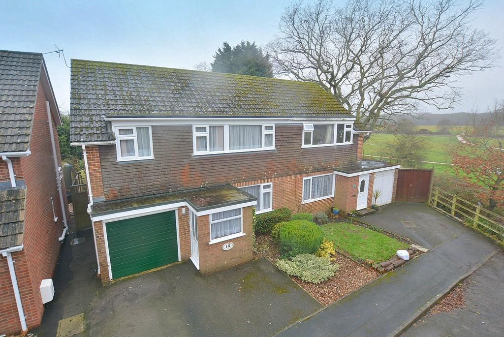 4 Bedrooms Semi Detached House for sale in Churchmoor Road, Wimborne