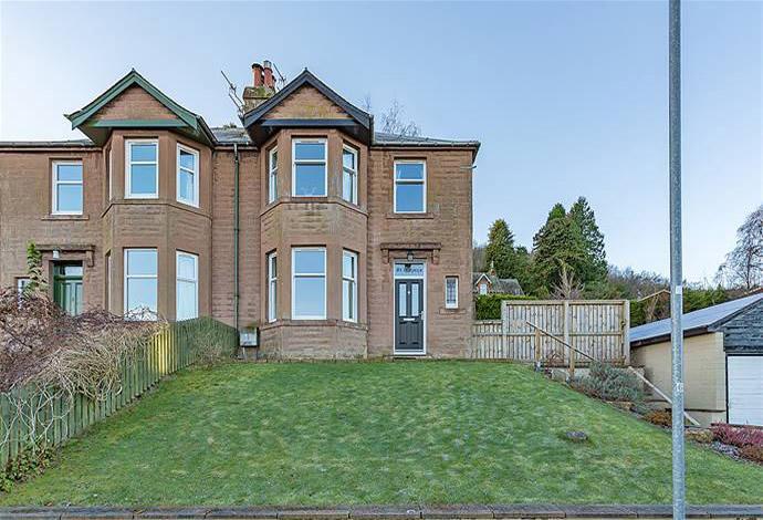 3 Bedrooms Semi Detached House for sale in St Ronans Oatlands Terrace, Galashiels, TD1 3DB