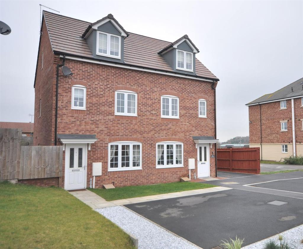 3 Bedrooms Semi Detached House for sale in Freya Road, Ollerton