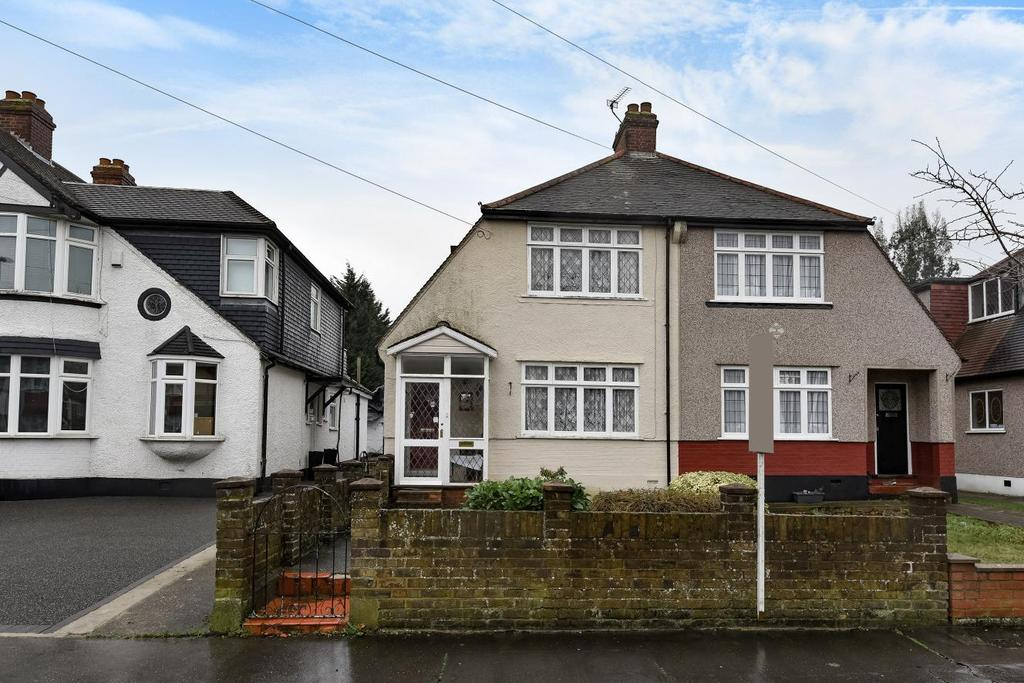 2 Bedrooms Semi Detached House for sale in Links View Road, Croydon