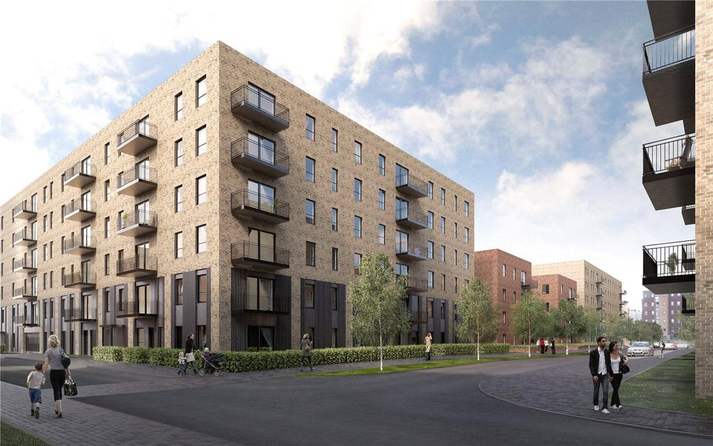 2 Bedrooms Apartment Flat for sale in Plot 1, 2 Bed Apartment, The Ropeworks, Salamander Place, Edinburgh, Midlothian