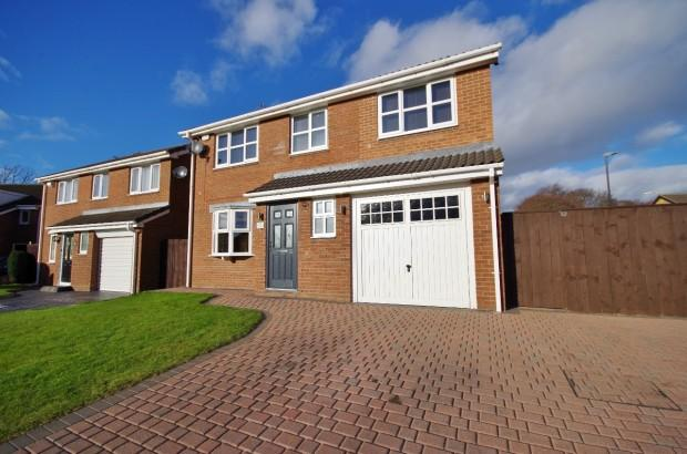5 Bedrooms Detached House for sale in Dunnlynn Close, East Moorside, SR3
