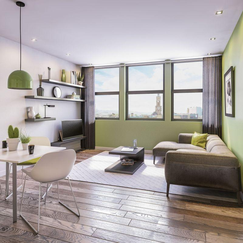1 Bedroom Apartment Flat for sale in The Residence at Park House Bradford - Two Bedroom Apartment