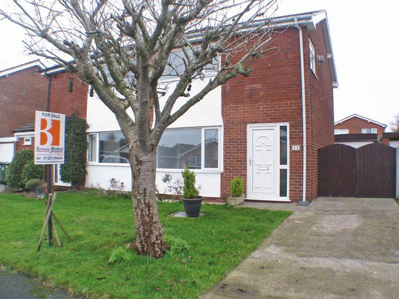 3 Bedrooms Semi Detached House for sale in Donnington Road, Carleton, FY6 7TG