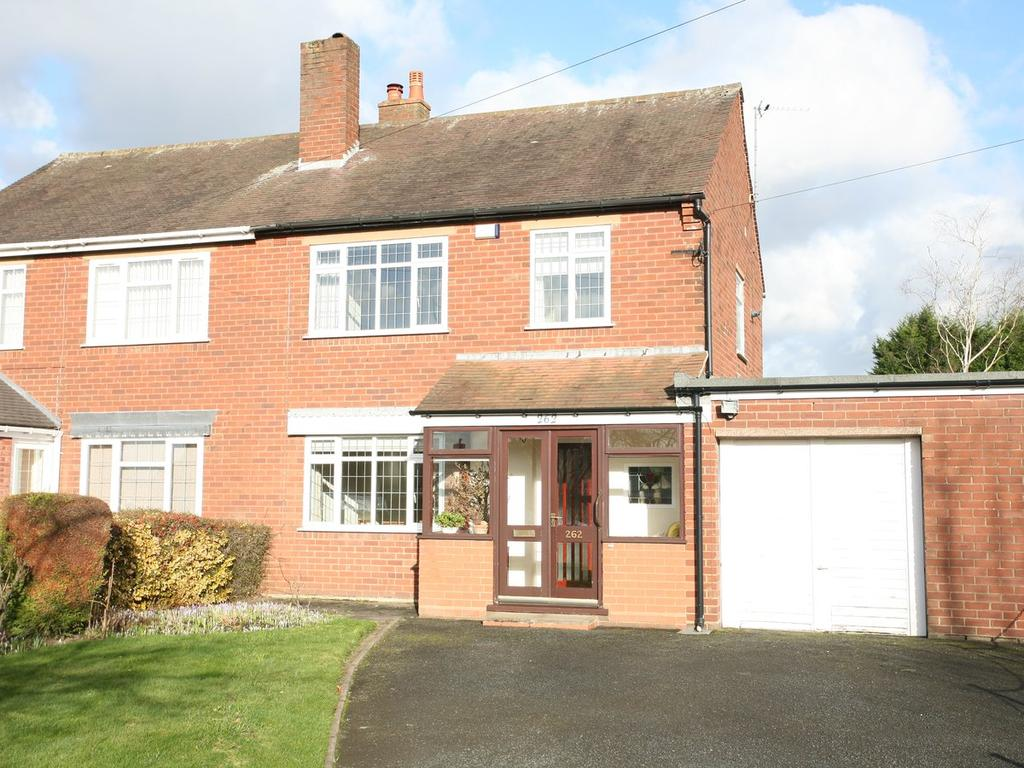 3 Bedrooms Semi Detached House for sale in 262 Longford Road, Cannock, WS11 1NE