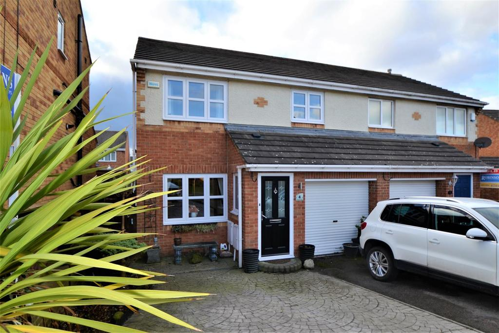 3 Bedrooms Semi Detached House for sale in Clover Court, Spennymoor