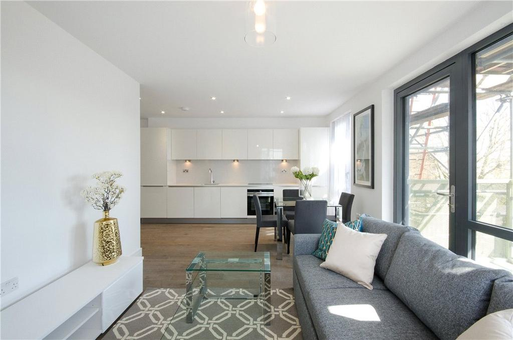 2 Bedrooms Flat for sale in Mariana Court, 29 Assembly Passage, Whitechapel, London, E1