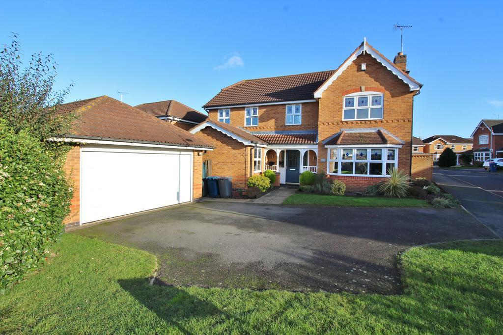 4 Bedrooms Detached House for sale in Sorrel Drive, Bingham, Nottinghamshire NG13