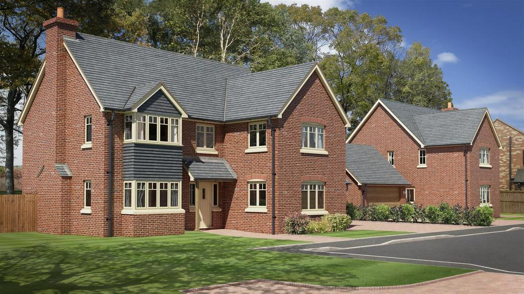 4 Bedrooms Detached House for sale in Longwood Park, Higher Heath, Whitchurch