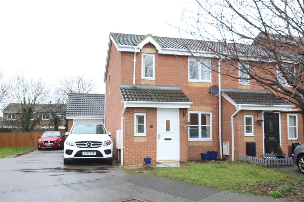 3 Bedrooms End Of Terrace House for sale in Moors Close, Deanshanger, Milton Keynes