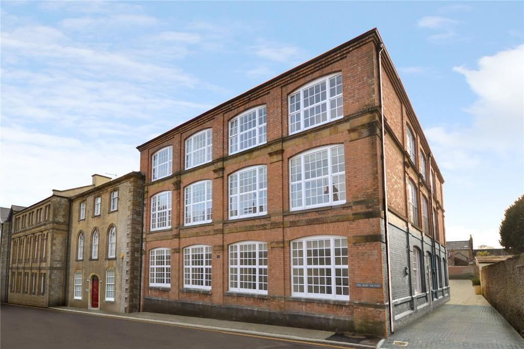 3 Bedrooms Flat for sale in The Shirt Factory, Abbey Street, Crewkerne, Somerset