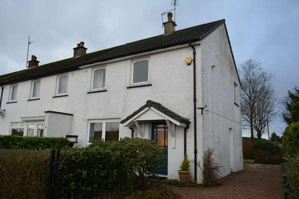 2 Bedrooms End Of Terrace House for sale in 2 Pollick Avenue, Uplawmoor, G78 4AE