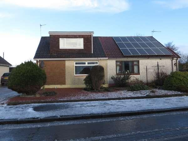 3 Bedrooms Semi Detached Bungalow for sale in 22 Netherlee Crescent, Dalry, KA24 5HF