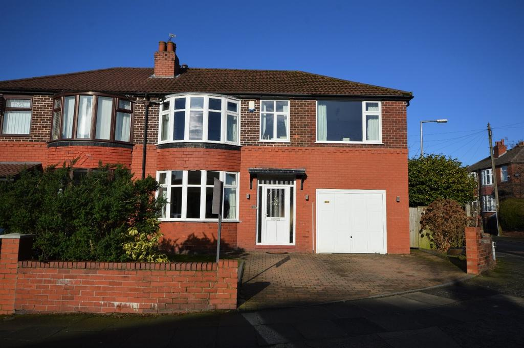 5 Bedrooms Semi Detached House for sale in Bowerfold Lane, Heaton Norris