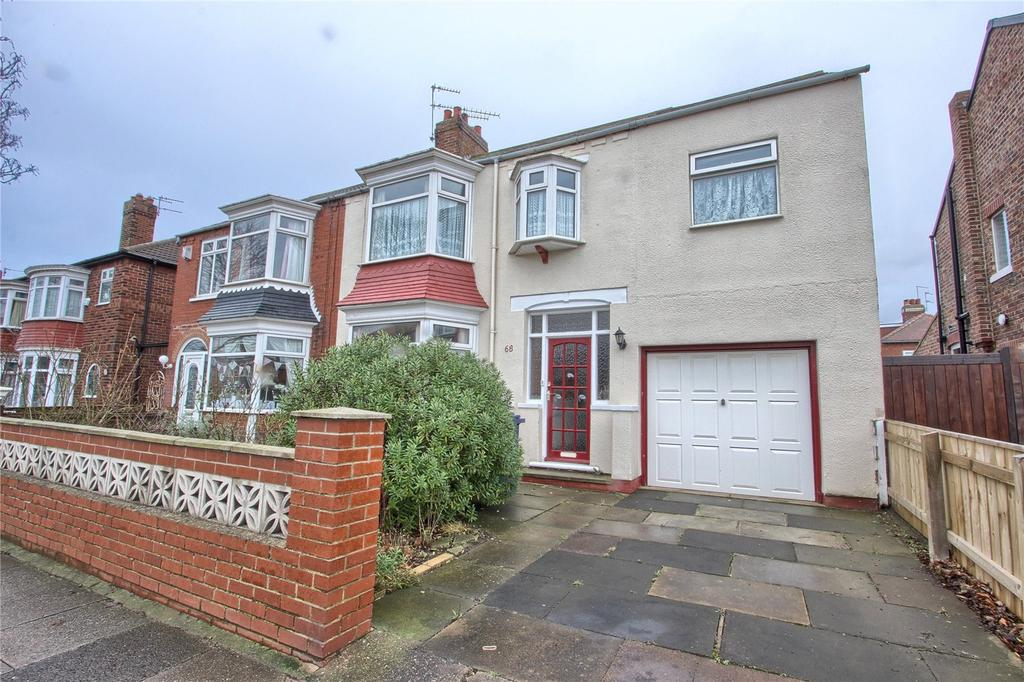 4 Bedrooms Semi Detached House for sale in Borough Road, Redcar
