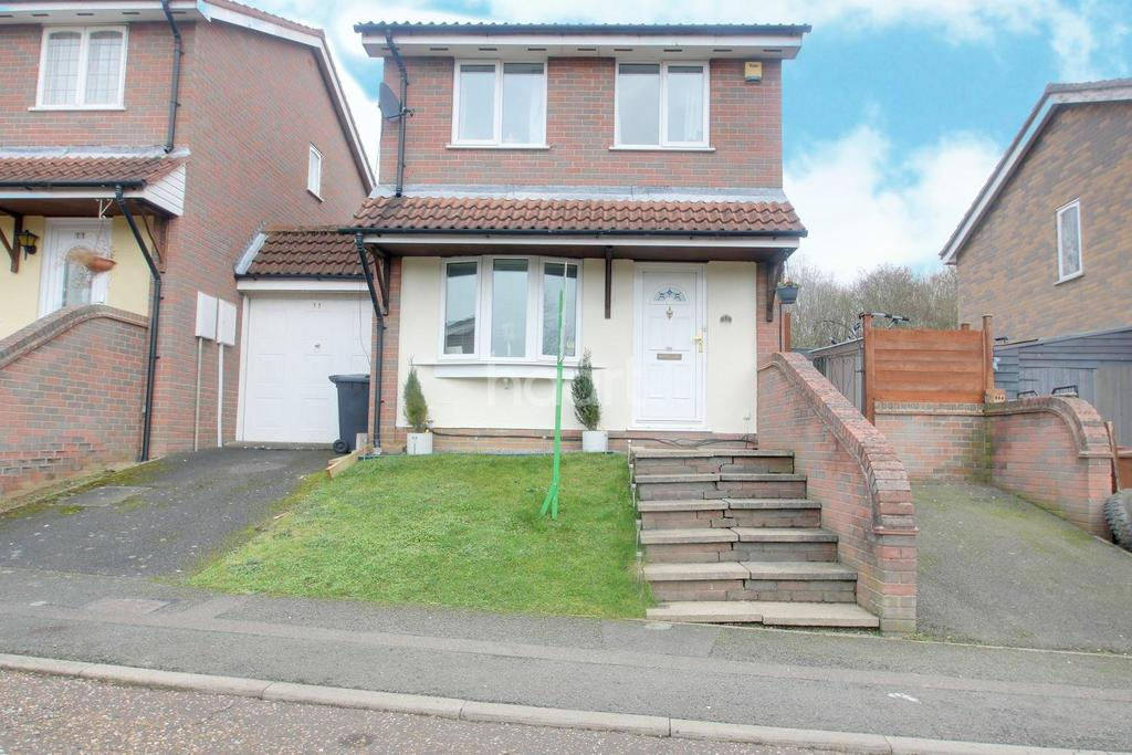 3 Bedrooms Detached House for sale in East Bank, Northampton