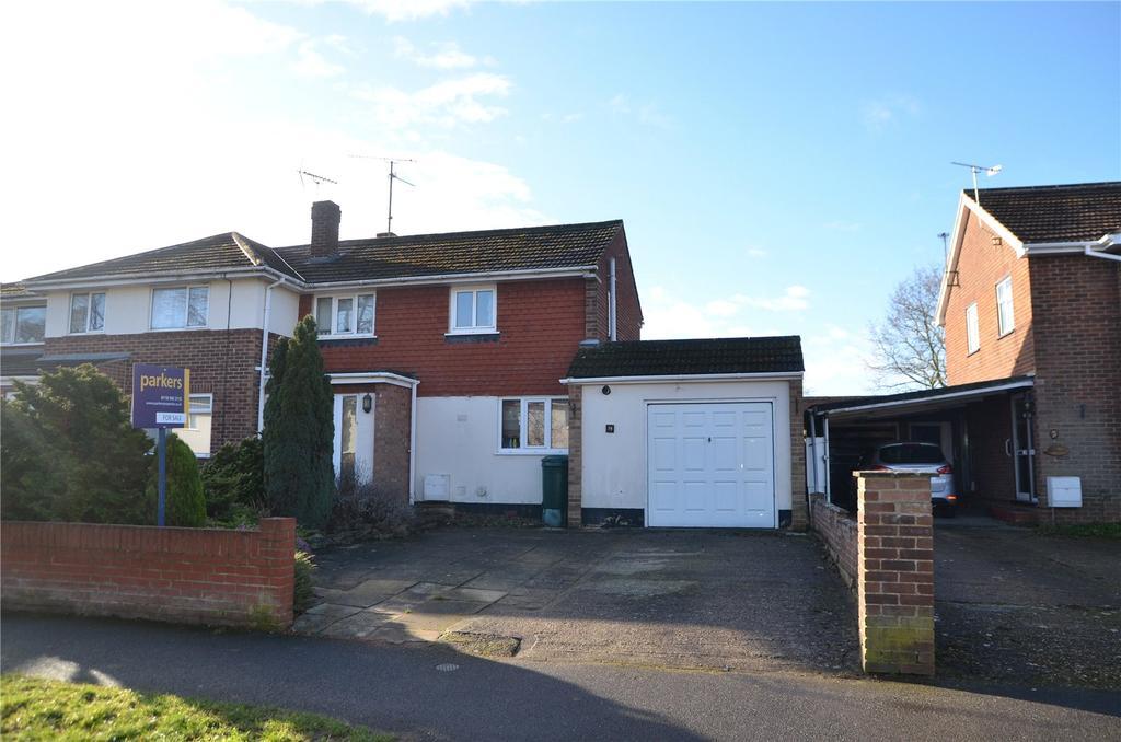 3 Bedrooms Semi Detached House for sale in Fullbrook Crescent, Tilehurst, Reading, Berkshire, RG31