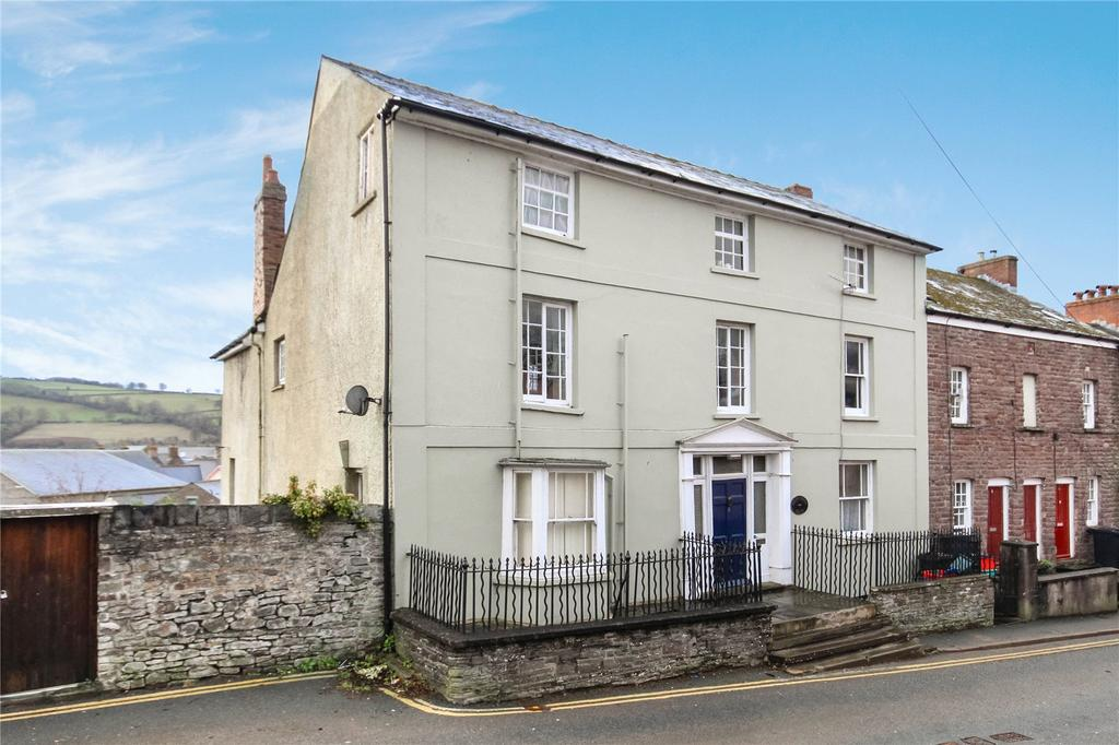 5 Bedrooms End Of Terrace House for sale in Mount Street, Brecon, Powys