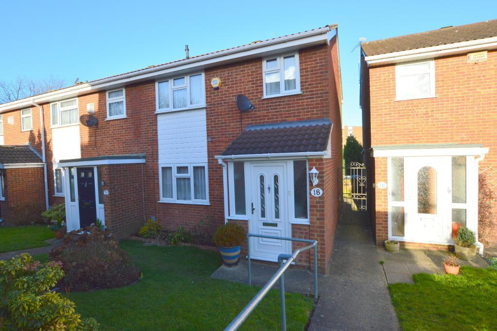 3 Bedrooms End Of Terrace House for sale in Chalfont Way, Stopsley, Luton, LU2 9RQ