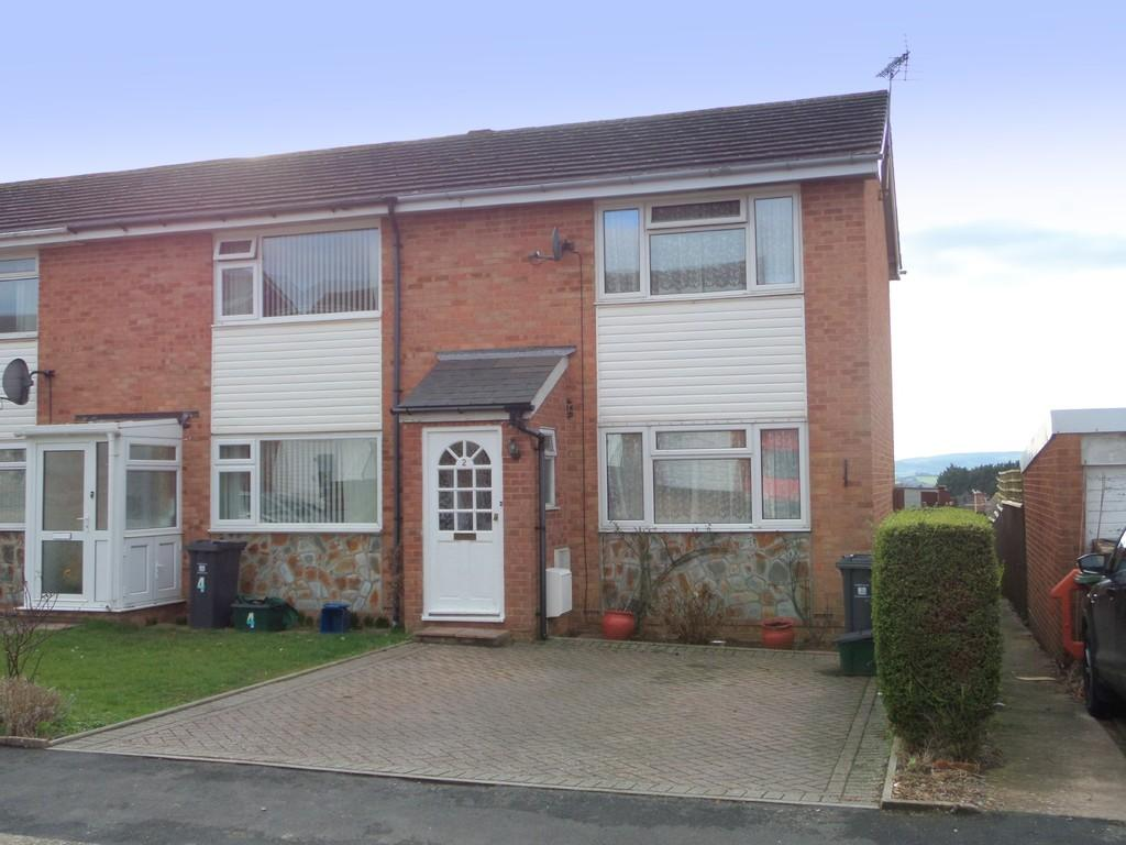 2 Bedrooms End Of Terrace House for sale in Yew Tree Close, Exmouth