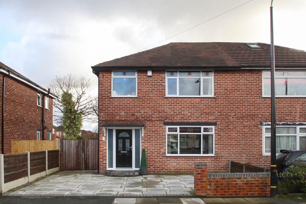 3 Bedrooms Semi Detached House for sale in Ullswater Road, Flixton, Manchester, M41