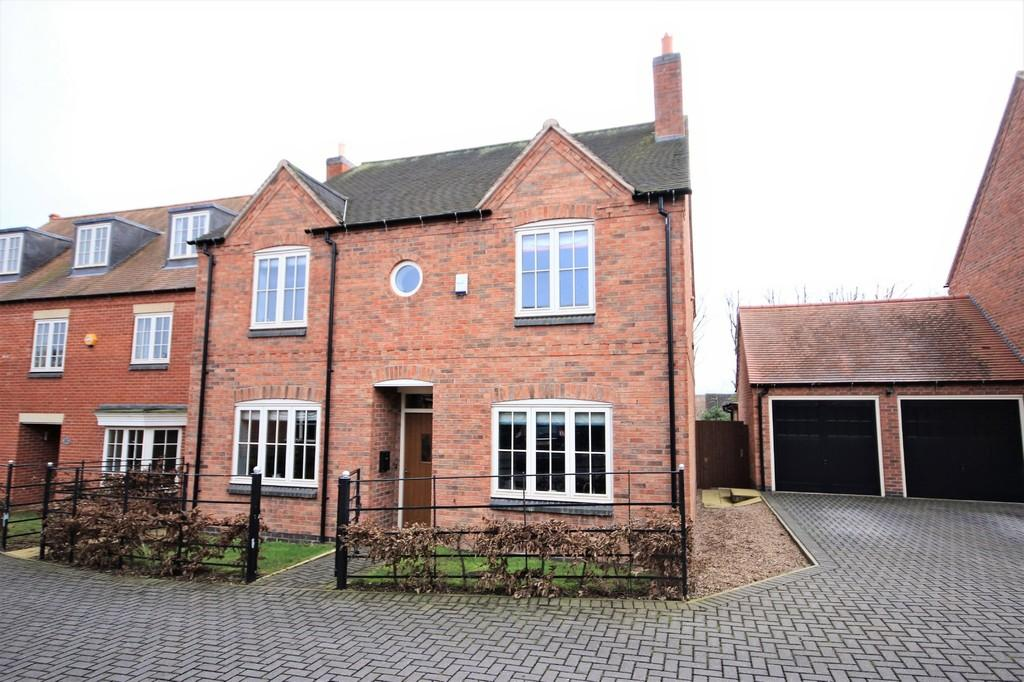 4 Bedrooms Detached House for sale in Whiteholmes Grove, Kegworth