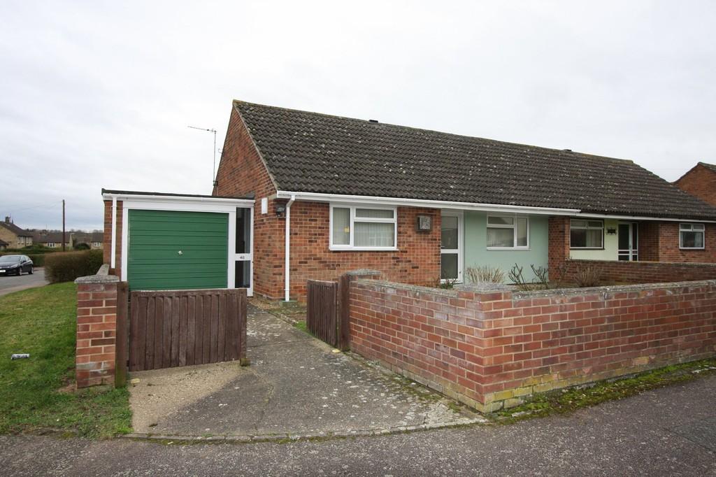 2 Bedrooms Semi Detached Bungalow for sale in Butt Road, Great Cornard