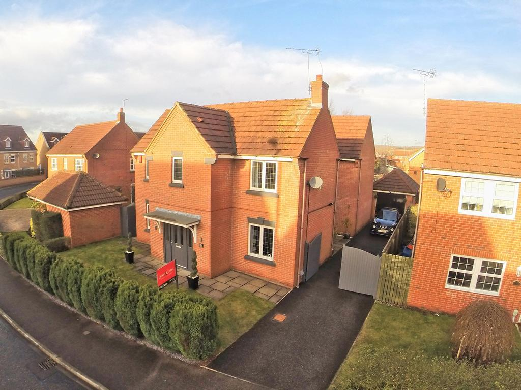 4 Bedrooms Detached House for sale in Myrtle Way, Brough, HU15