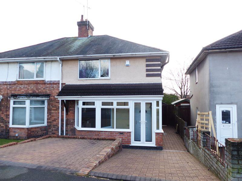 3 Bedrooms Semi Detached House for sale in Tottenham Cresent, Birmingham