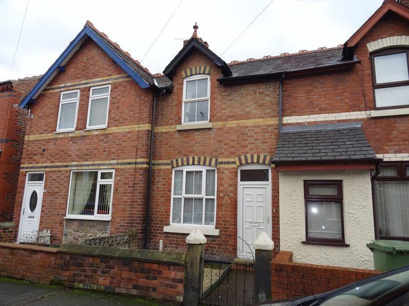 2 Bedrooms Terraced House for sale in Cunliffe Street, Wrexham