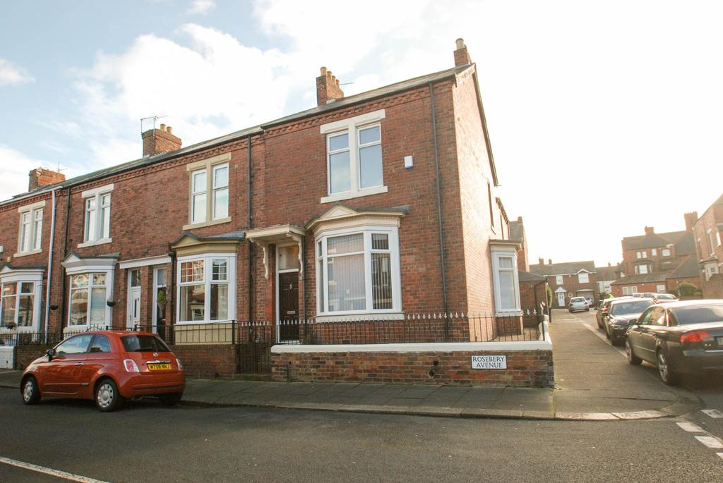 3 Bedrooms Terraced House for sale in Rosebery Avenue, South Shields