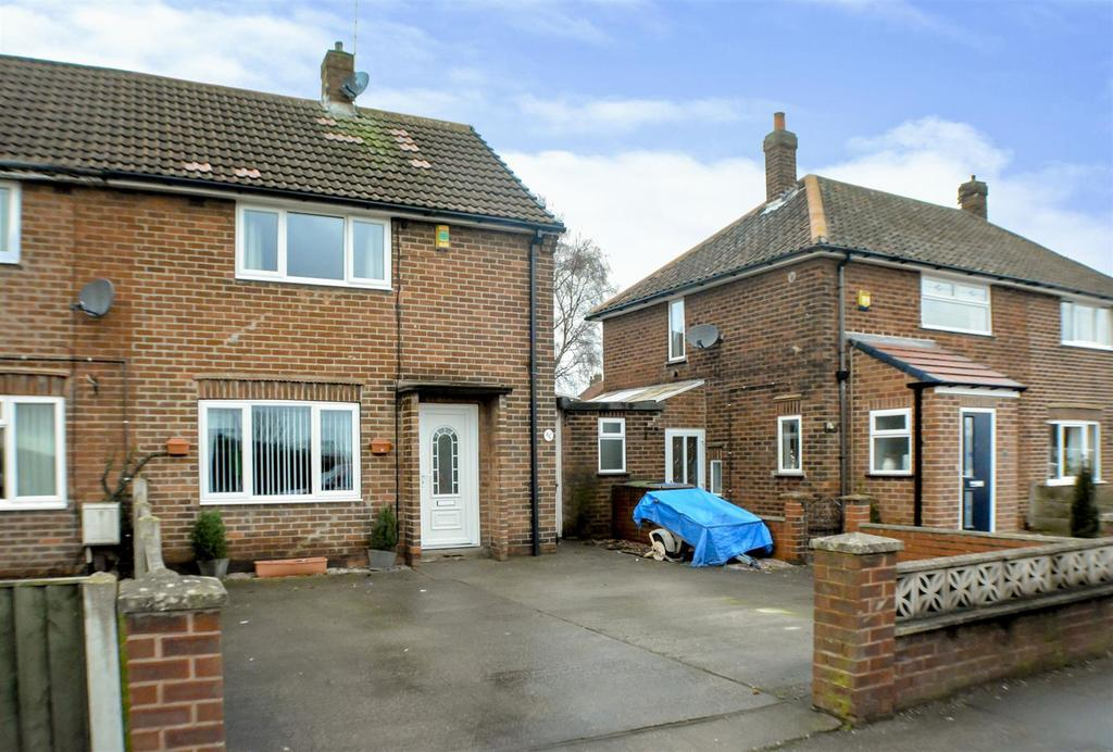 2 Bedrooms Semi Detached House for sale in Park Hall Road, Mansfield Woodhouse, Mansfield