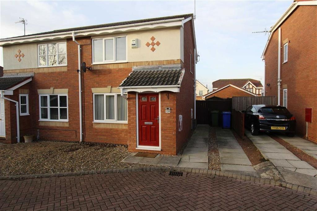 2 Bedrooms Semi Detached House for sale in Aysgarth Rise, Bridlington, East Yorkshire, YO16