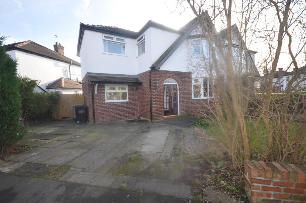 4 Bedrooms Semi Detached House for sale in West Vale Road, Timperley WA15