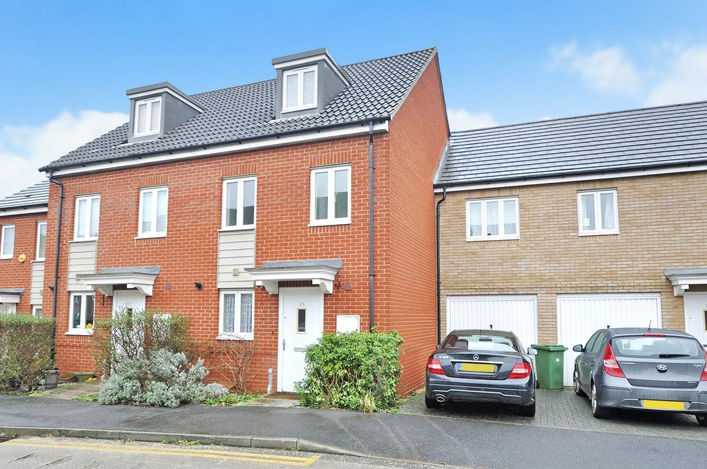 3 Bedrooms Town House for sale in Wellstead Way, Hedge End, Southampton, Hampshire, SO30 2LE