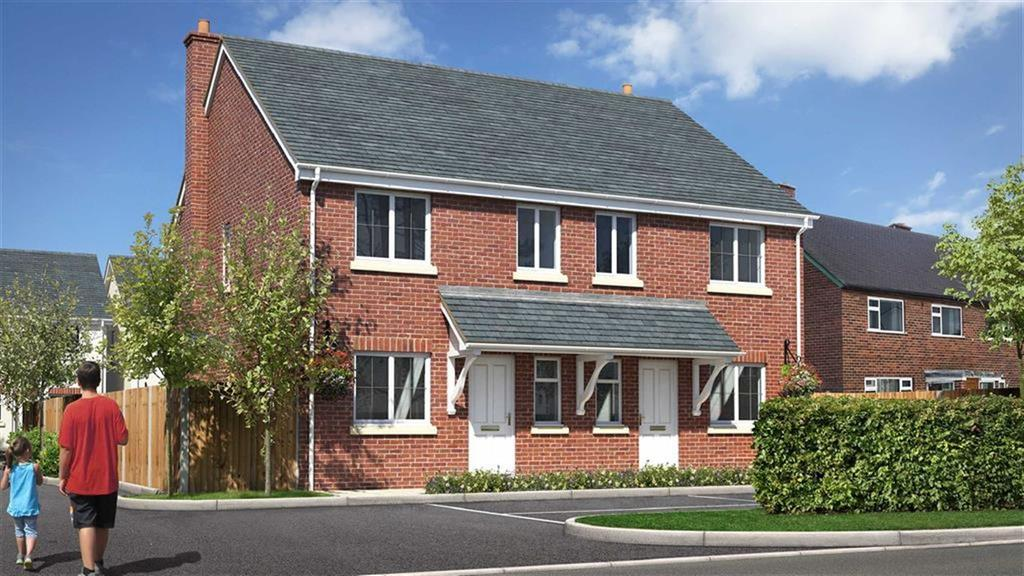 3 Bedrooms Semi Detached House for sale in 2, The Old Dairy, Copthorne, SY3