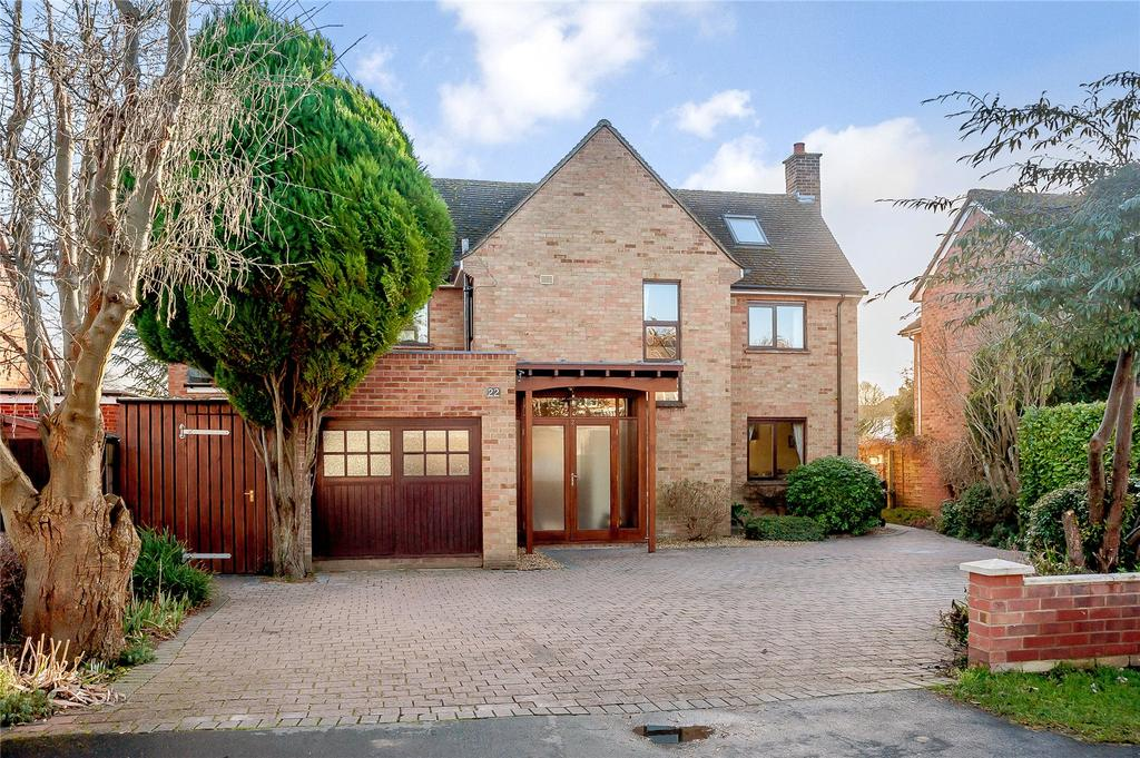 5 Bedrooms Detached House for sale in Kinnaird Way, Cambridge